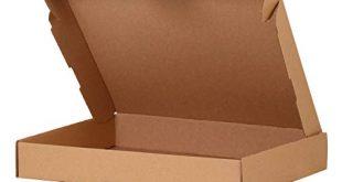 AG heute 25 Stueck Maxibriefkartons Braun 319 x 225 x 50 310x165 - A&G-heute 25 Stück Maxibriefkartons Braun 319 x 225 x 50 mm Maxibriefkarton DIN A4 Kartons Faltkarton Postkarton